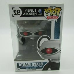 Funko POP! DC Comics Super Heroes Black Manta #92 Vinyl Figu