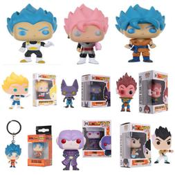 Funko Pop:Dragonball Z -Beerus,Goku,Vegeta, HIT,Gotenks Drag