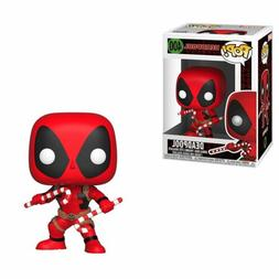 Funko Pop Marvel Holiday - Deadpool with Candy Canes Vinyl F