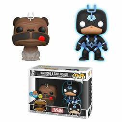 Funko Pop Marvel SDCC 2018 Teleporting Lockjaw & Black Bolt