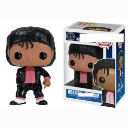 FUNKO POP MICHAEL JACKSON BILLIE JEAN BAD Vinyl Model Action