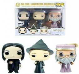 Harry Potter Funko POP! Movies Exclusive Vinyl Figure 3-Pack