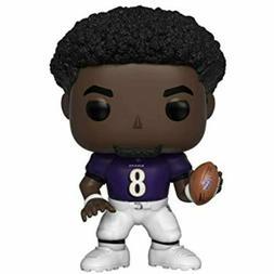Funko POP NFL Series 6 Lamar Jackson   Figure w/ Protector