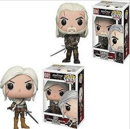 FUNKO POP The Wicher CIRI & GERALT Vinyl Action Figure Colle