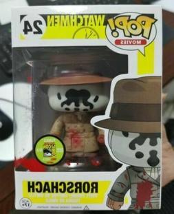 Funko pop watchmen rorschach comic con figure tv figure anim