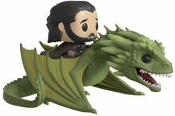 Game of Thrones Jon Snow & Rhaegal Pop! Rides Vinyl Figure