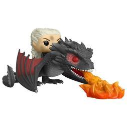 Funko Game Of Thrones POP Daenerys Fiery Dragon Figure Set N