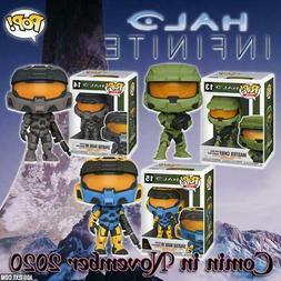 Halo Infinite Pop! Vinyl Figure Custom 3 Piece Bundle