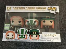 HARRY POTTER 3-PACK ECCC 2019 EXCLUSIVE FUNKO Pop Vinyl Figu