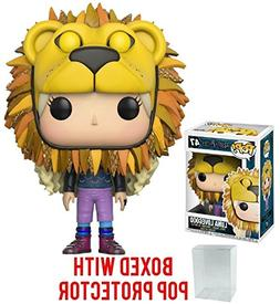 Harry Potter Luna Lovegood Lion Head Pop! Vinyl Figure and