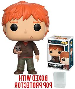 Harry Potter Ron Weasley with Scabbers Pop! Vinyl Figure and