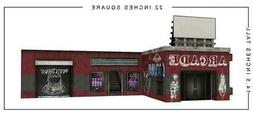 In STOCK Building 5.0 Arcade Pop-Up DIorama Display 1/12 Sca