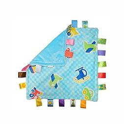 J&C Family Owned 7Style 30cm Baby Comforting Taggies Blanket