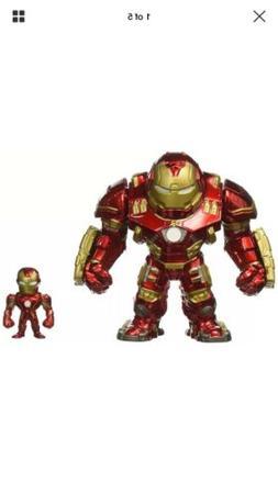 """Jada Toys Metals Marvel 6"""" Classic Figure - Hulkbuster & 2"""""""