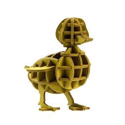 JIGZLE Duck 3D Paper Puzzle DIY Kit - Laser Cut Miniature An