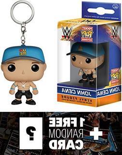 John Cena: Pocket POP! x WWE Mini-Figure Keychain + 1 FREE O