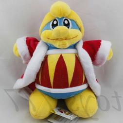 "Kirby DDD King DeDeDe Pop Star 10"" Stuffed Animal Nintendo G"
