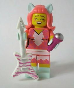 Kitty Pop Guitar Pink Hair Ears Female Singer LEGO MOVIE 2 M