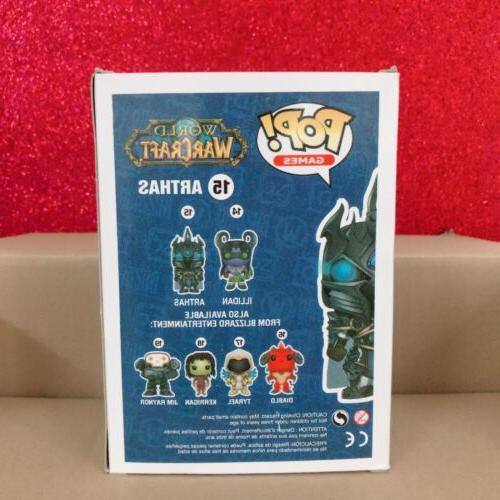 10cm Funko Pop World Warcraft WOW ARTHAS MENETHILL Toys Gift
