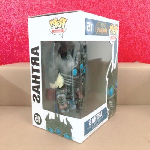 10cm Games: World Warcraft WOW ARTHAS Figure Toys Gift