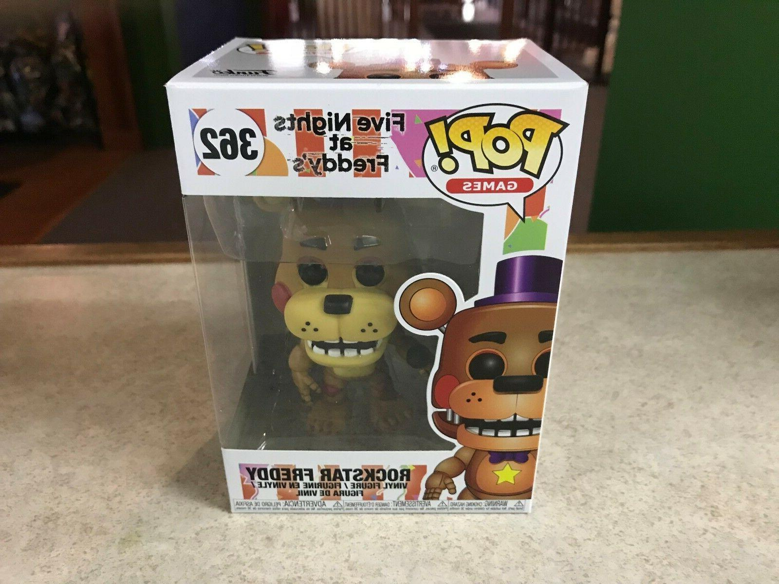 2018 Funko POP! Five Nights At Freddy's ROCKSTAR FREDDY #362