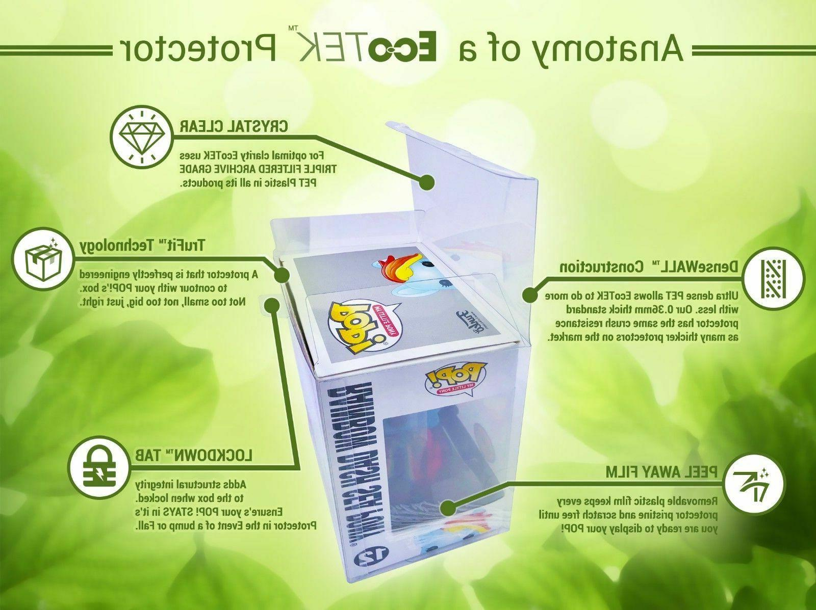 """30 Funko Crystal Clear Strong Protector case For 4"""" Figures"""