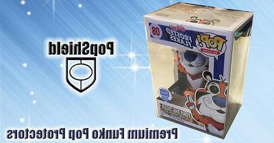 "30-PACK Pop Shield! PLASTIC BOX PROTECTOR 4"" VINYL"