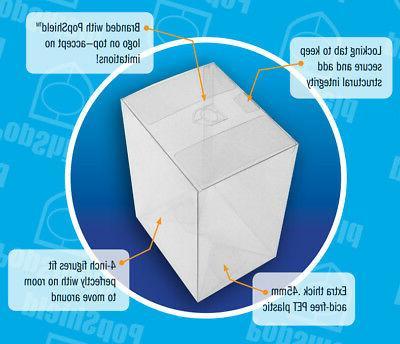 30 pack pop shield plastic box protector