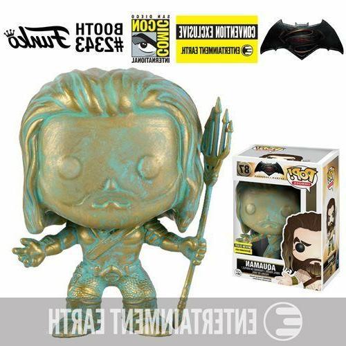 Batman v Superman: Dawn of Justice Aquaman Patina Pop! Vinyl