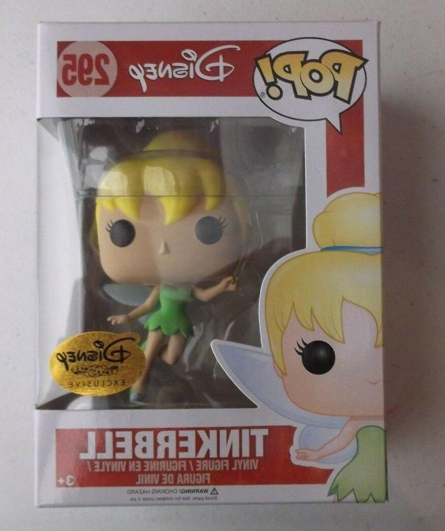 DISNEY TREASURES TINKERBELL 295 FUNKO POP FIGURE NEW TINY TO