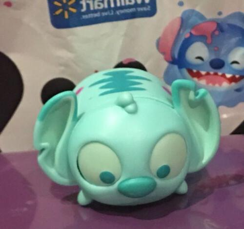 Disney Tsum Tsum Color Pop Teal Splatter Paint Stitch Large