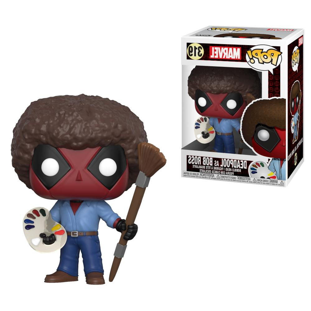 FUNKO POP! MARVEL: DEADPOOL PLAYTIME DEADPOOL AS BOB ROSS 31
