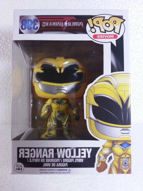 FUNKO POP MOVIES POWER RANGERS YELLOW RANGER VINYL FIGURE 39