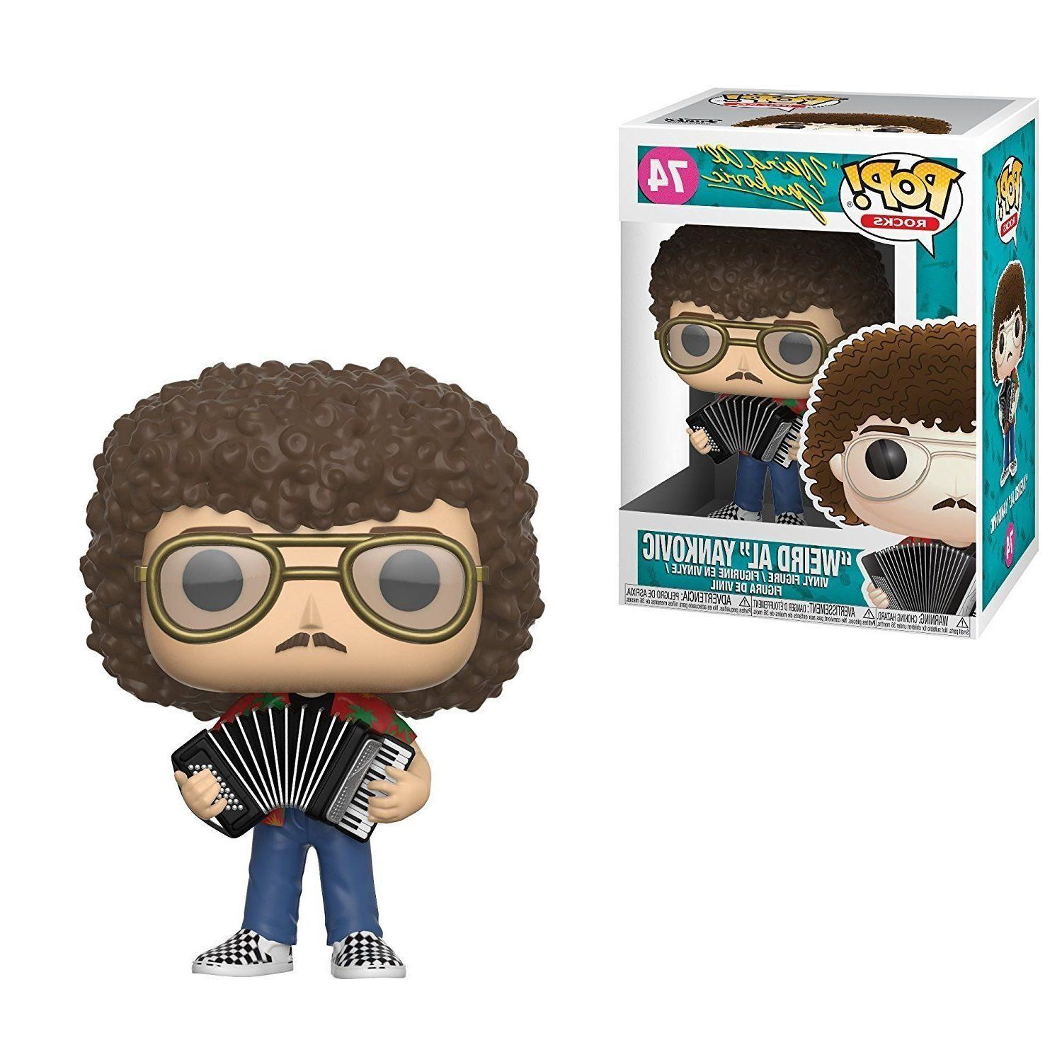 FUNKO POP VINYL ROCKS ROCK STAR WEIRD AL YANKOVIC  FIGURE