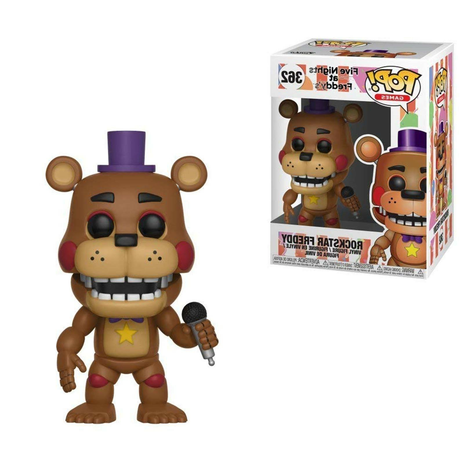 Funko Five Nights At Freddy's POP Rockstar Freddy Vinyl Figu