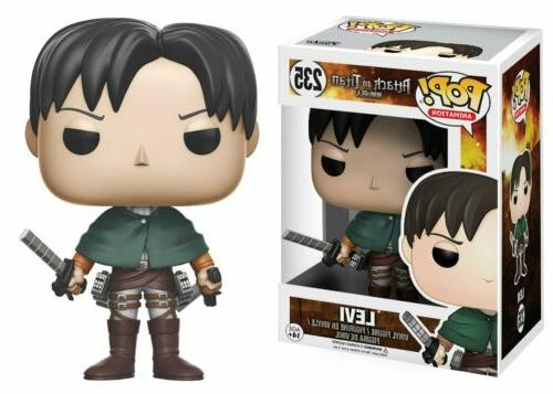 Funko Pop Anime Attack On Titan Levi Vinyl Action Figure