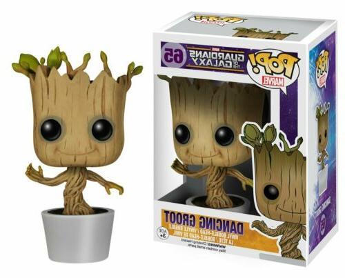 Funko Pop! Dancing Groot Guardians Of The Galaxy Vinyl Figur