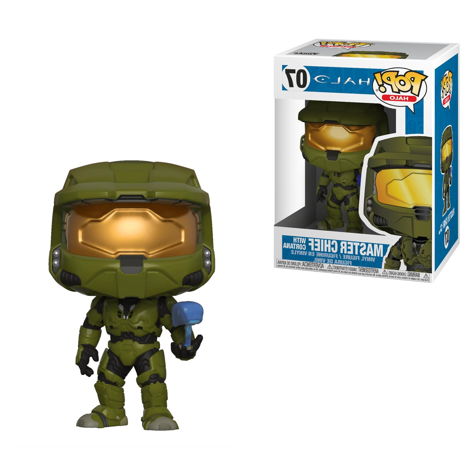 Funko Pop Games Halo Master Chief with Cortana Vinyl Action