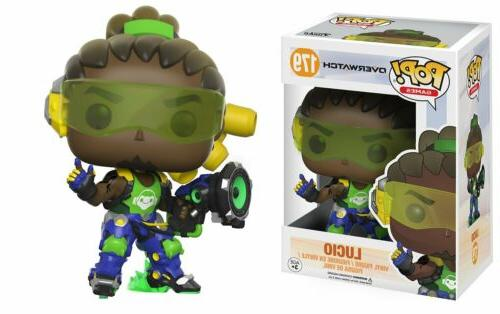 Funko Pop Games Overwatch Lucio Vinyl Action Figure