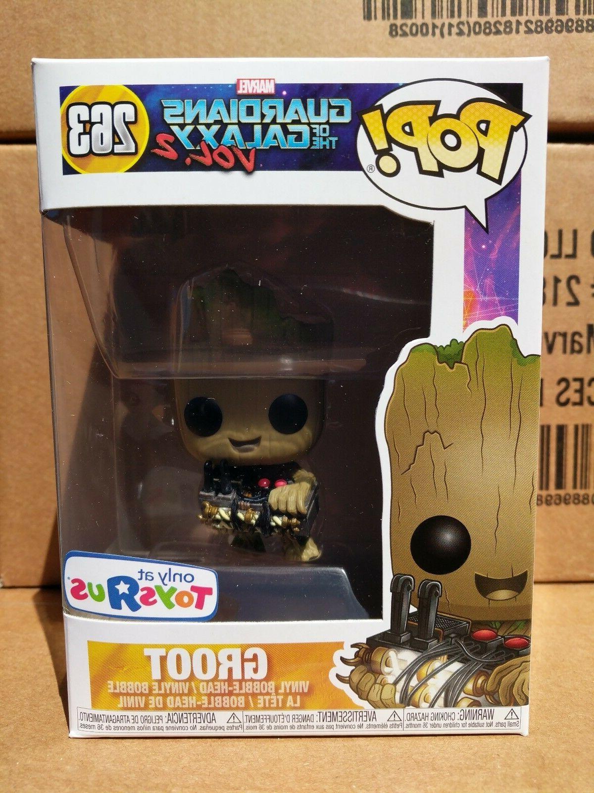 Funko Pop Guardians of the Galaxy 2 Groot Holding Bomb Vinyl