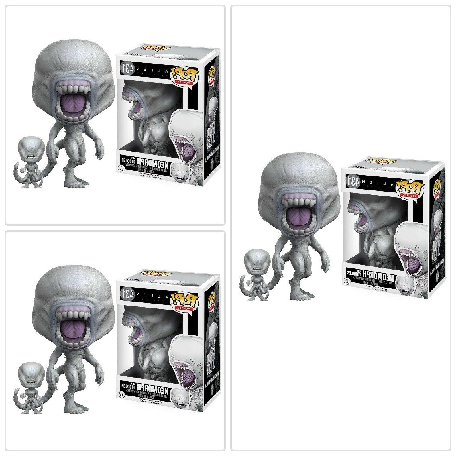 Funko Pop Movies Alien Covenant Neomorph With Toddler Baby T