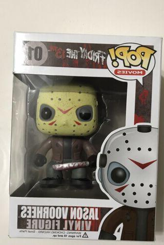 Funko Pop! Movies Figure #01 Jason Vorhees From Friday the 1