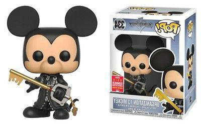 Kingdom Hearts POP Disney Organization 13 Mickey Vinyl Figur