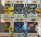 Lot of 6 Funko POP! Television Figures (White Black Yellow &
