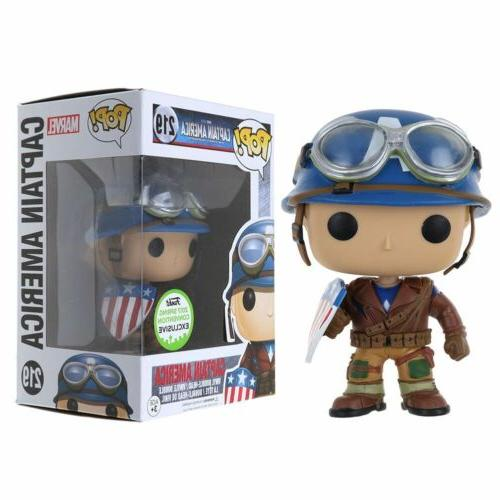 Funko Pop Marvel Captain America ECCC Spring Limited Version