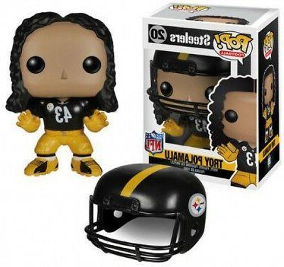 NFL Pittsburgh Steelers Funko POP! Sports Troy Polamalu Viny