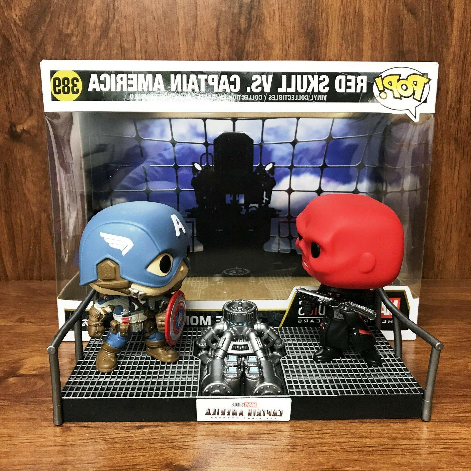 Pop Movie Moment : Red Skull Vs. Captain America #389 Vinyl