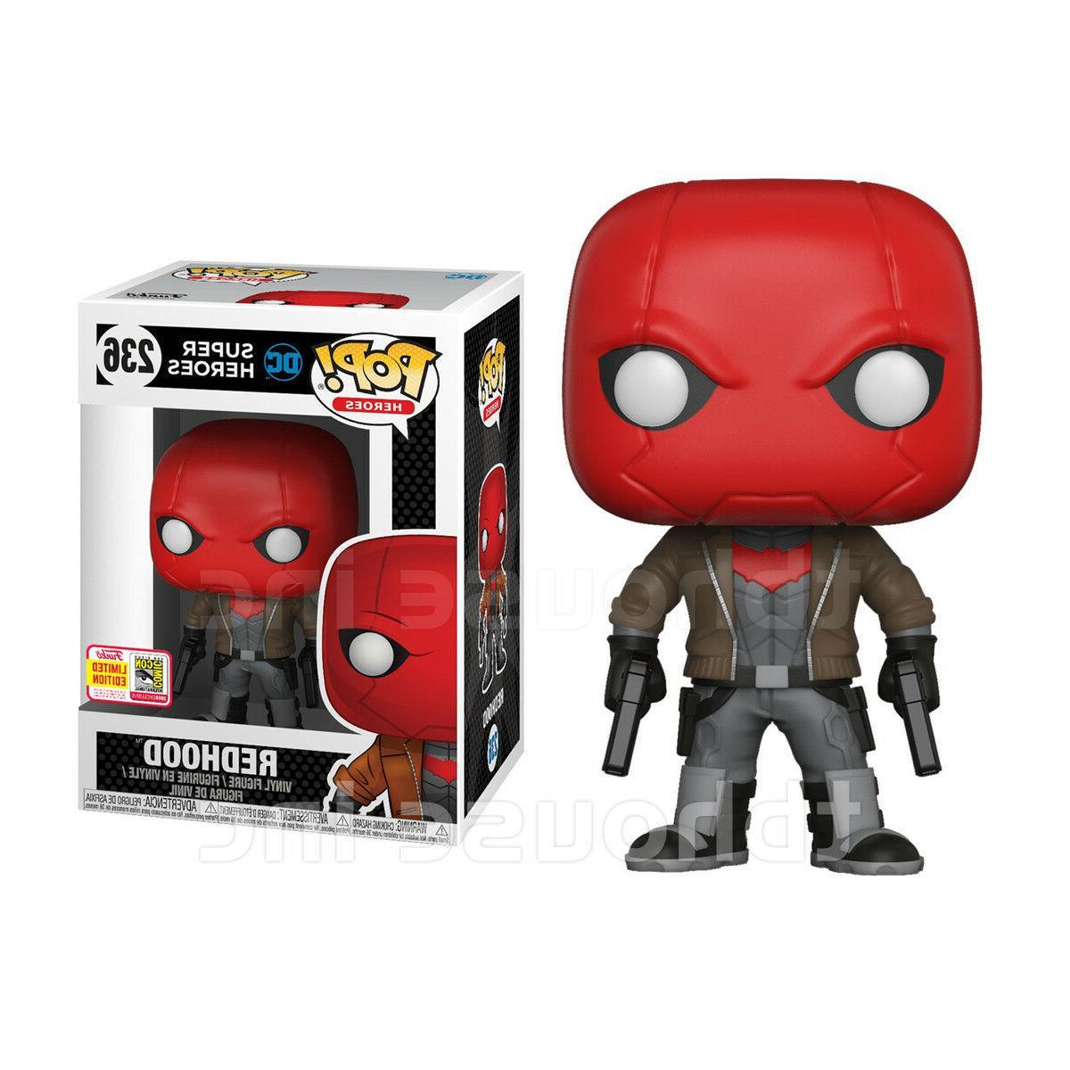 RED HOOD figure 2018 SDCC funko POP DC SUPER HEROES batman J