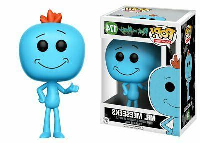 Rick and Morty Mr. Meeseeks Pop! Vinyl Figure CHASE VARIANT