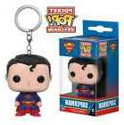 Superman Keychain, DC Comics Justice League, Key Chain Ring